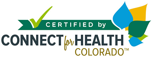 Certified by Connect for Health Colorado Logo